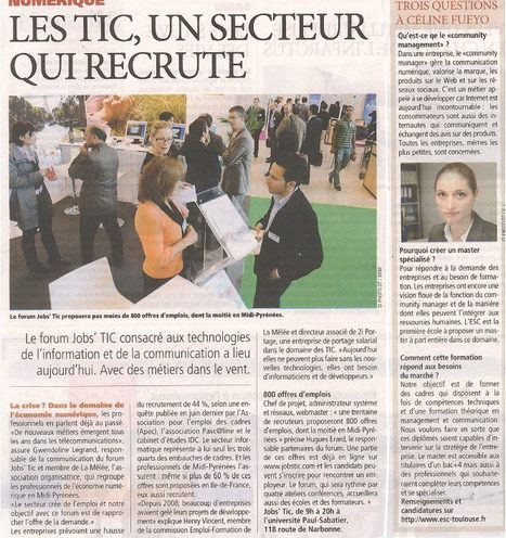 Interview 20 Minutes, Toulouse | In medias-reputation | Scoop.it