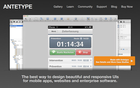 Best Tools to Build Your App Prototype in a Day | UX Design | Scoop.it