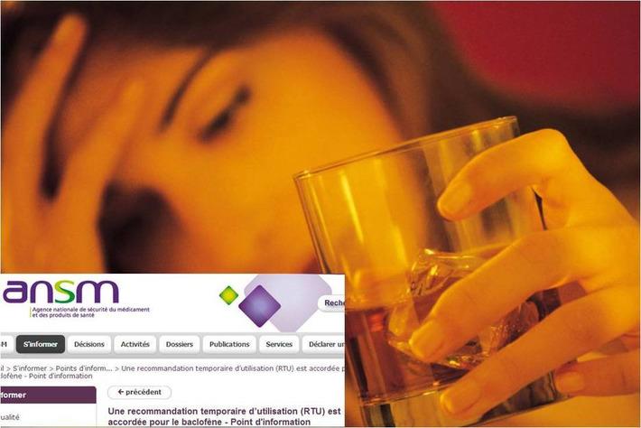 """""""La RTU est une reconnaissance de l'utilité du baclofène dans le traitement de l'alcoolisme"""" Dr Renaud de Beaurepaire - Actualités - Vidal.fr   PharmacoVigilance....pour tous   Scoop.it"""