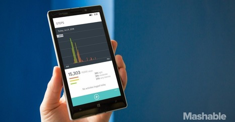 Fitbit Steps Into Windows Phone | mHealth | Scoop.it