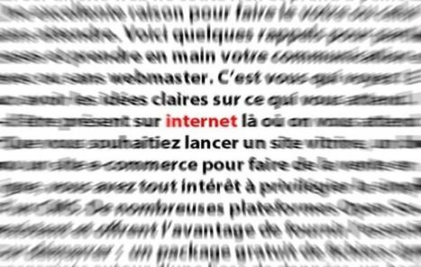 7 idées nettes pour démarrer votre site internet | Si les images pouvaient parler elles diraient des mots | Scoop.it