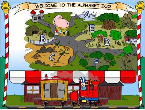 Lectoescritura - Empareja las letras - inglés para nivel inicial   Aprendizaje Infantil   Scoop.it