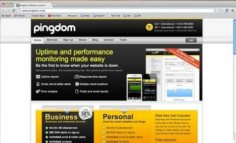 8 Best Sites to Help You To Monitor Your Websites   ZoomZum   Web Design from Brand Graphics   Scoop.it