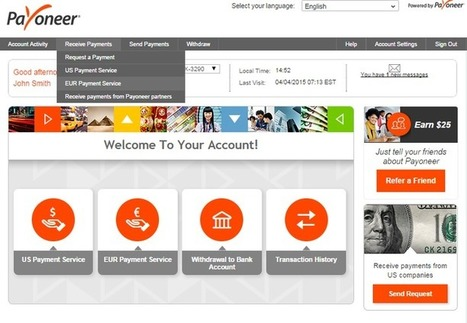 How to apply for Payoneer EU service and how to use it?   Nature Tips to Get Fresh Eyes   Scoop.it