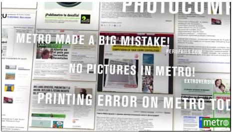 Metro: No Pictures...   Art for art's sake...   Scoop.it