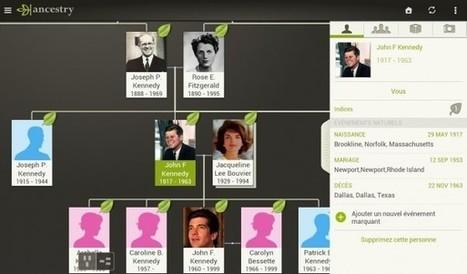 Ancestry : L'application pour créer son arbre généalogique | Time to Learn | Scoop.it