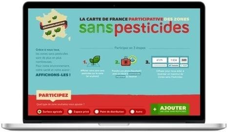 Carte participative : Que 1000 zones sans pesticides fleurissent partout en France ! | Gouvernance alimentaire | Scoop.it