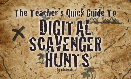 The Teacher's Quick Guide To Digital Scavenger Hunts - Edudemic | iwb's | Scoop.it