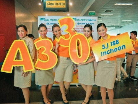Cebu Pacific uses its new Airbus A330 and A320 for Singapore and Korea | findmeabreak | Scoop.it