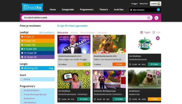 Edu-Curator: De Kinderboekenweek op de website van Schooltv | Educatief Internet - Gespot op 't Web | Scoop.it
