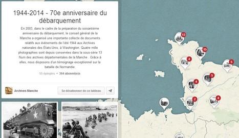 70e anniversaire du débarquement : images valorisées sur Pinterest. | Nos Racines | Scoop.it