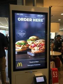 McDonald's Unveils New 'Customer Experience' With Table Service, Ordering Kiosks | UXploration | Scoop.it