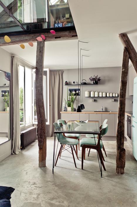 Sous les toits de Paris | | PLANETE DECO a homes worldPLANETE DECO a homes world | Aménagement et décoration | Scoop.it