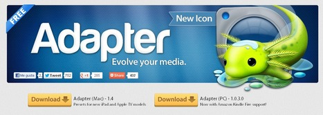 ADAPTER - Convierte formatos de imágen, vídeo o audio. Descarga vídeos online y más...   Pedalogica: educación y TIC   Scoop.it