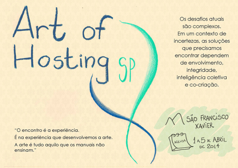 Art of Hosting SP – Inscrições: (11) 99603-9202 « Iniciativa Gaia | Art of Hosting | Scoop.it