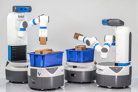 "Robots Aim to Be Warehouse Worker's Best Friend—or Replacement | MIT Technology Review | L'impresa ""mobile"" 