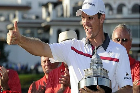 Justin Rose Wins Congressional Cup in Play Off - Share on Meebal.com | Worldwide News | Scoop.it