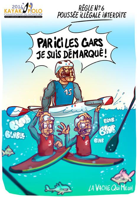 Canoe polo world championship 2014 - Vache normande dessin ...