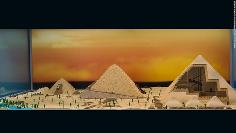 Architectural wonders made entirely from Lego | Comic Book Trends | Scoop.it