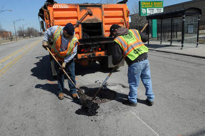 Spring is in the air, and potholes are in the road   Real Estate Plus+ Daily News   Scoop.it