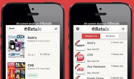 Retale, The App That Puts Weekly Store Circulars On Your Smartphone, Raises $12m #mobileweb | MobileWeb | Scoop.it