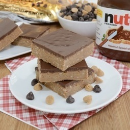 Peanut Butter Nutella Bars | FoodieDoc says: | Scoop.it