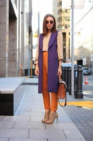30 Sneaky Ways to Incorporate Orange Into Your Fall Wardrobe | Fashion News & trends | Scoop.it