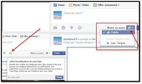 Marketing sur Facebook: nouvelle possibilité de ciblage, très utile dans le tourisme | Marketing et management dans le tourisme | Scoop.it