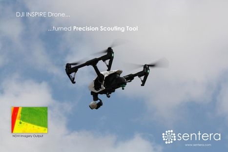 Sentera Transforms INSPIRE Drone into Affordable Precision Scouting Tool - sUAS News   drones   Scoop.it