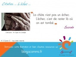 S Comm C, le blog, L'échec | Citations | Scoop.it