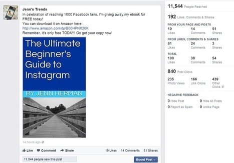 CASE STUDY - How A Facebook Post Reached Over 10,000 People Organically | Hello Trends | Scoop.it