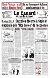 Le Canard Enchaîné | N° 4903 | 15 octobre 2014 | Revue des unes et des sommaires des abonnements du CDI | Scoop.it