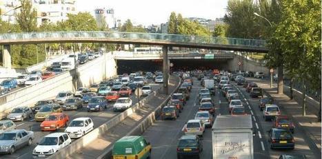 Paris, quatrième ville la plus embouteillée d'Europe | Paris lifestyles | Scoop.it