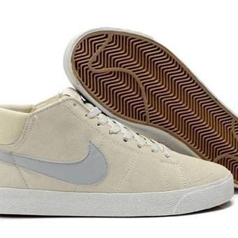Nike 6.0 Blazer Mens Shoes Mid Lr Suede Beige Grey | Business | Scoop.it
