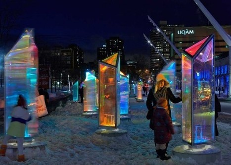 RAW turns downtown Montreal into an interactive kaleidoscope   Ples sa bojama   Scoop.it