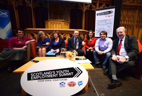 Six Scottish Government Ministers attend Scotland's Youth Employment Summit - SYP blog | SayYes2Scotland | Scoop.it