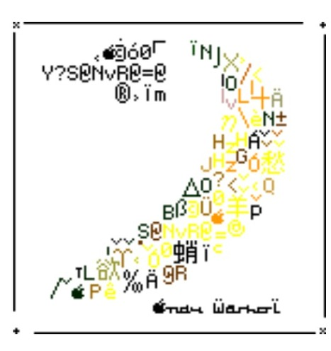 Delaware's Banana, 2004. | ASCII Art | Scoop.it