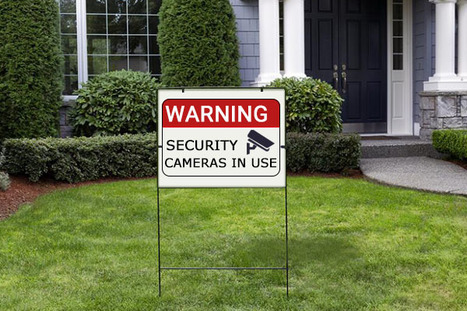 Do Fake Security Signs Really Work to Deter Burglars? - Lets Ask The Security Sensei! | Home Security Tips | Jordan Frankel | Scoop.it