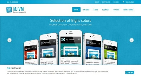 Responsive Virtuemart Mobile Template | Joomla 2.5 Theme Apps | Design and Lean Manufacturing and Application | Scoop.it