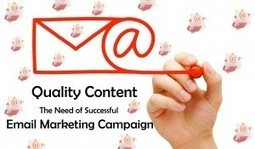 Quality Email Content - The Need of Successful Email Marketing Campaign | Garuda - The Intelligent Mailer | Email Marketing | Scoop.it