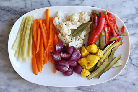 Giardiniera: Pickle your favorite summer vegetables | Le Marche and Food | Scoop.it