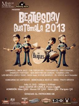 Beatles day Guatemala 2013 | Organización y Montaje de Eventos | Scoop.it