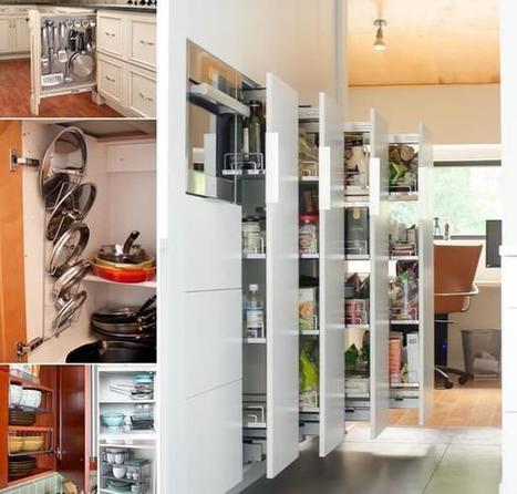 10 Clever Vertical Storage Ideas for Your Kitchen | Amazing interior design | Scoop.it
