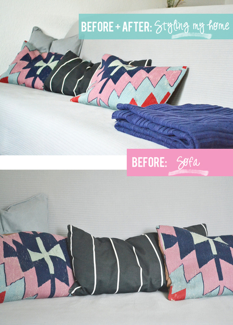 Happy Interior Blog: Before & After: Home Styling Part One | Interior Design & Decoration | Scoop.it