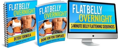 Flat Belly Overnight | FITNESS AND WEIGHT LOSS | Scoop.it