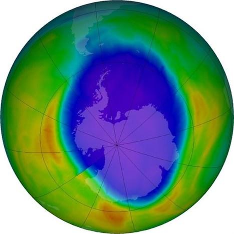 Temperaturas más altas reducen un 19% el agujero de la capa de ozono | CTMA | Scoop.it