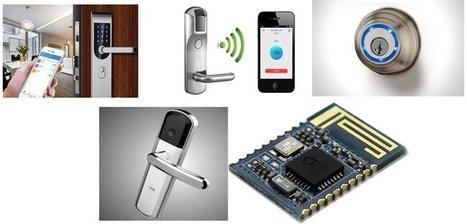 Smart door lock solution based on NXP Bluetooth QN9021 | Intrusion & security information | Scoop.it