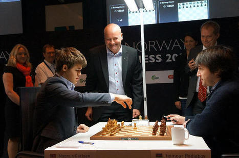 Chess & Strategy - Échecs en Norvège : Karjakin talonné par Carlsen | Crédit Agricole | Scoop.it
