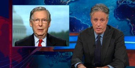 Stewart On Obamacare: 'IT'S A F**KING LAW!' | Social Studies Education | Scoop.it