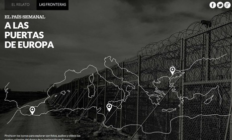 Las fronteras: Europa, frontera sur | Interactive & Immersive Journalism | Scoop.it